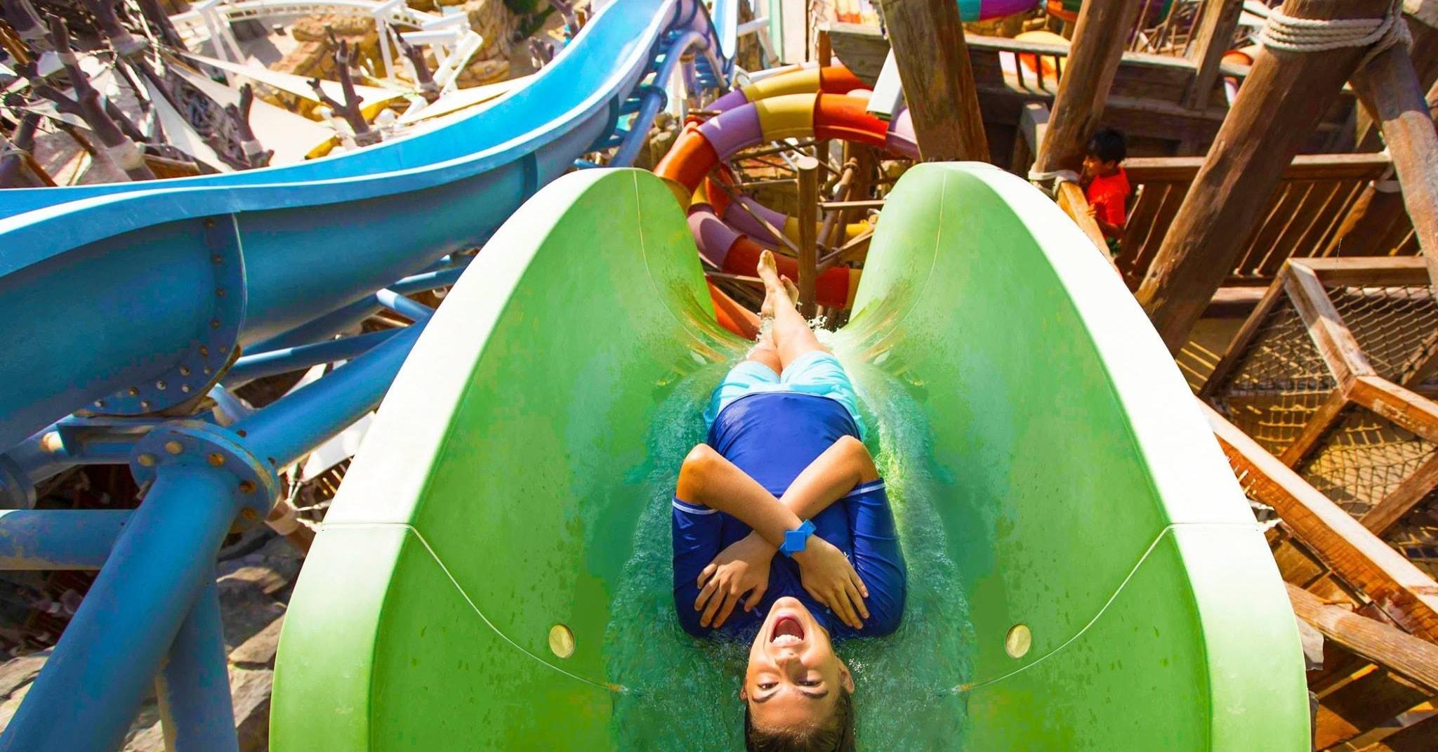 Yas Waterworld waterpark in Abu Dhabi