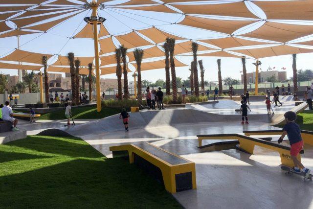 XDubai Skatepark Kite beach Dubai