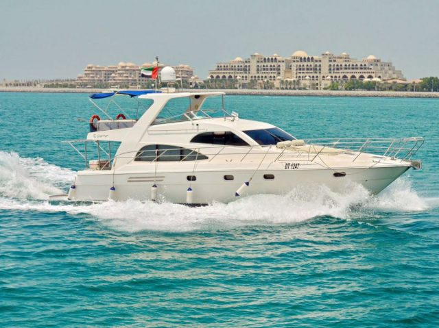 Tirena yacht rental Dubai
