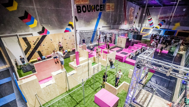 X-Park Adventure Challenge Course at Bounce Dubai