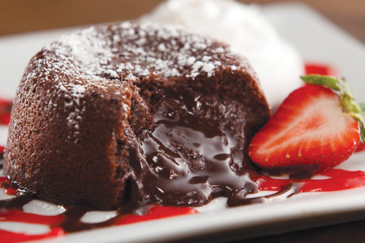 Molten Chocolate Cake at TGI Fridays