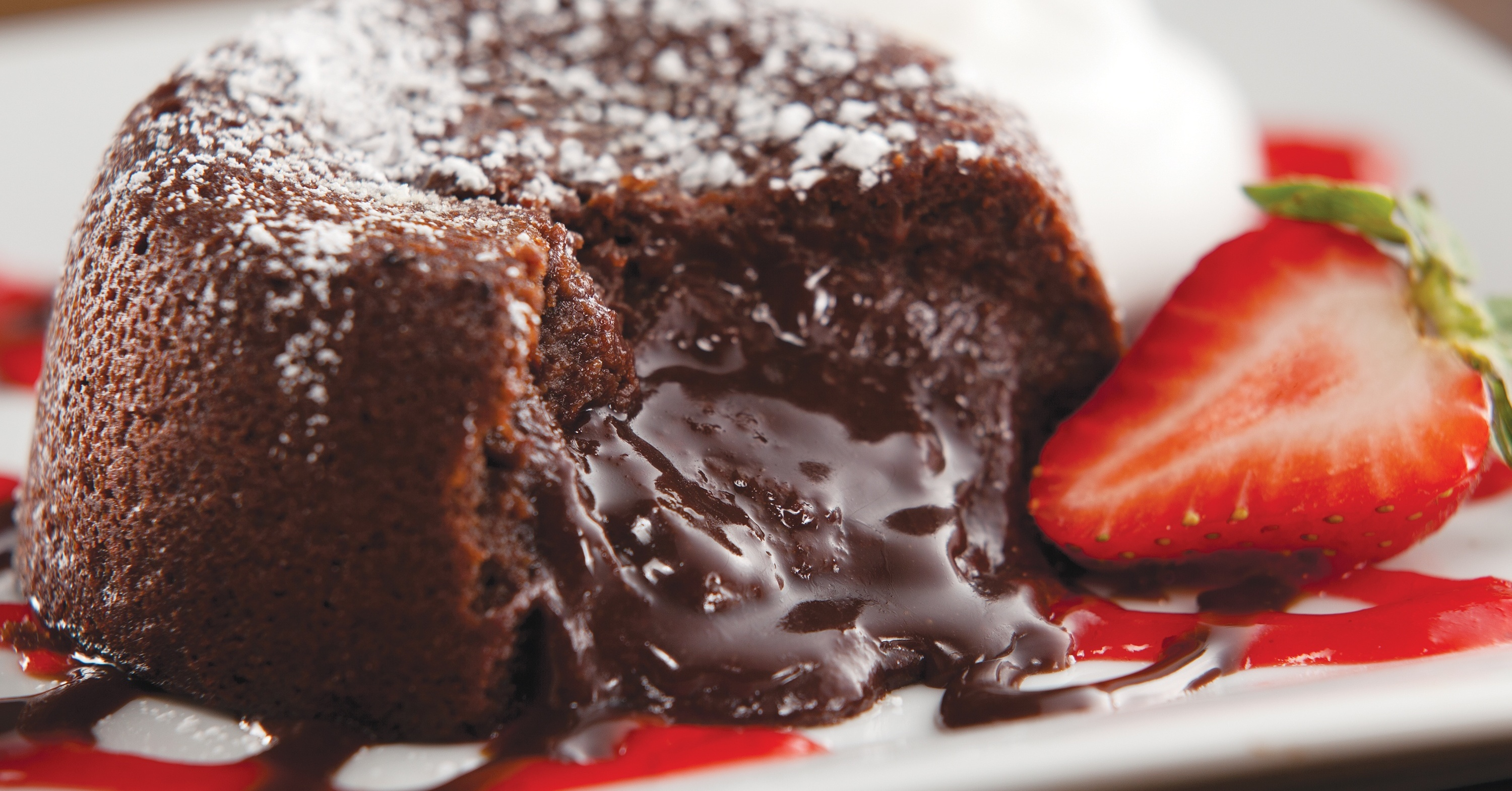Molten Chocolate Cake at TGI Fridays