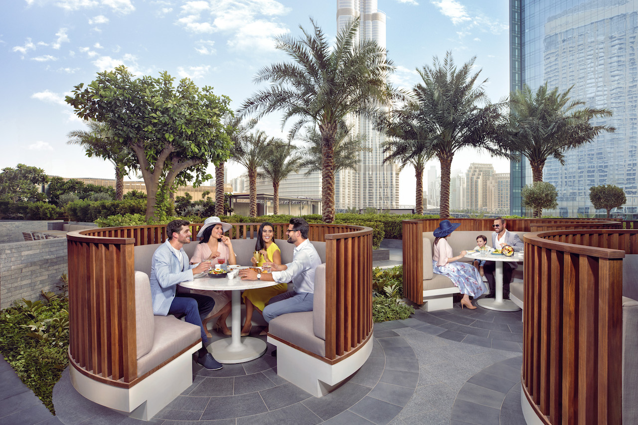 Riviera Chic Brunch at the Address Boulevard in Downtown Dubai