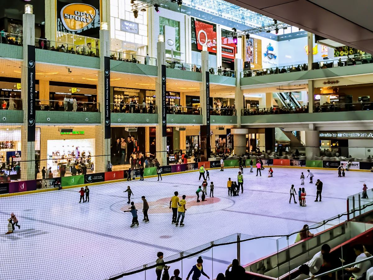 Dubai Ice Rink at Dubai Mall