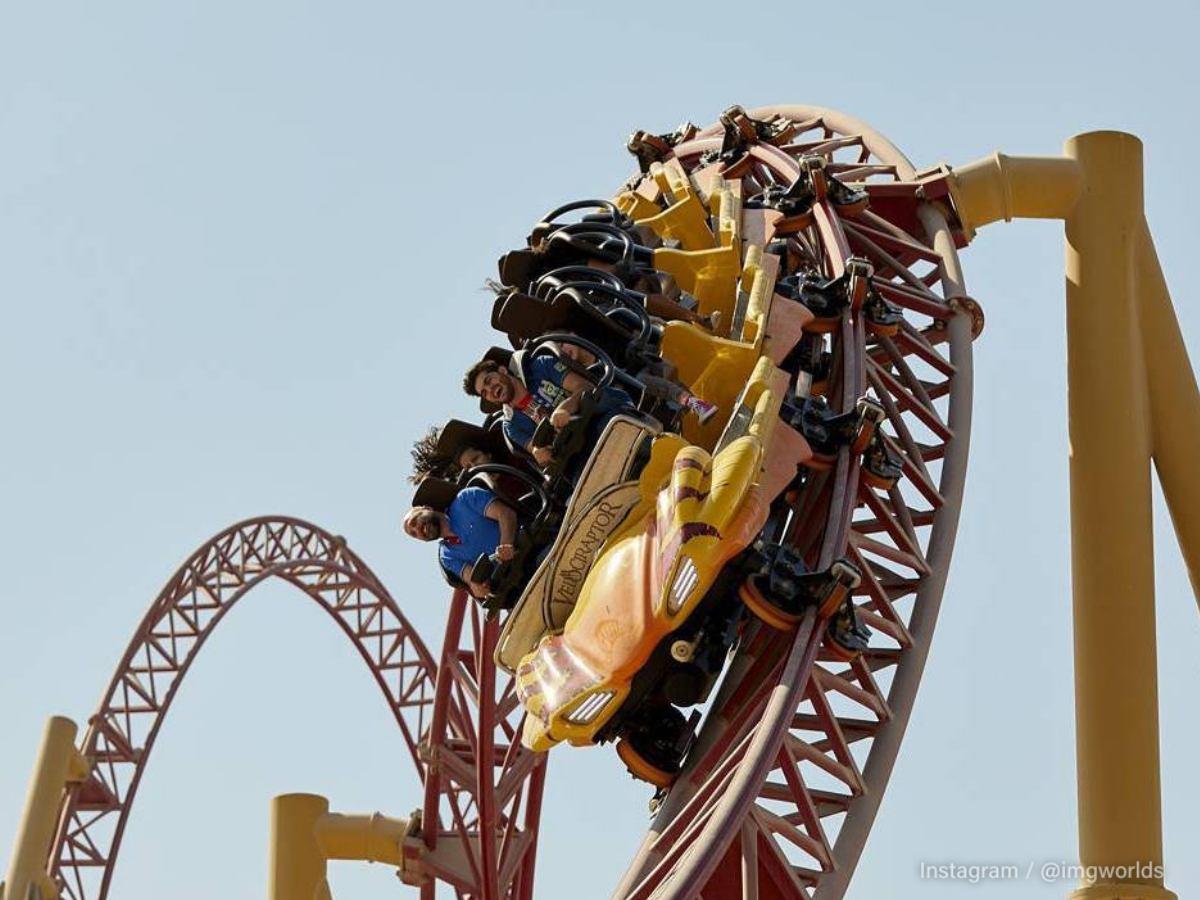 IMG Worlds of Adventure theme park in Dubai