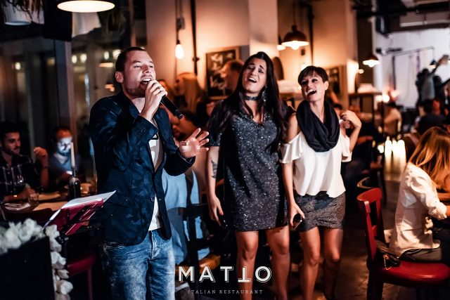 MATTO Italian food restaurant in Diubai
