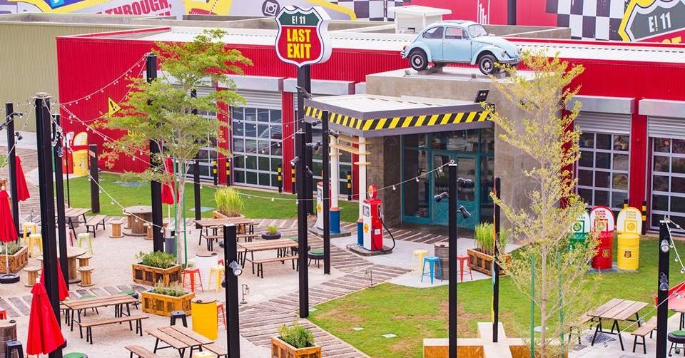 Last exit Dubai food truck park