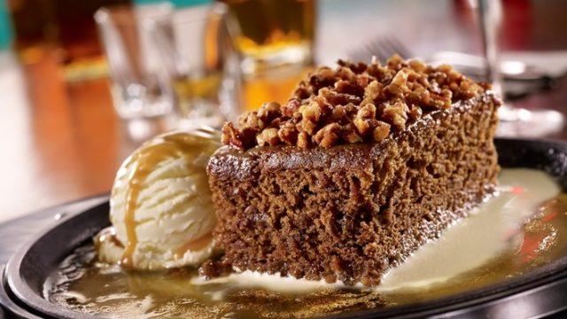 Sizzling Toffee Cake at TGI Fridays