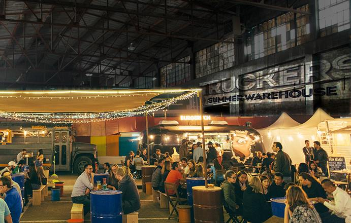 Indoor Food Truck Festival at Truckers Summer Warehouse
