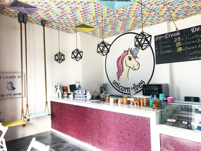 Unicorn Vibes desserts in Dubai