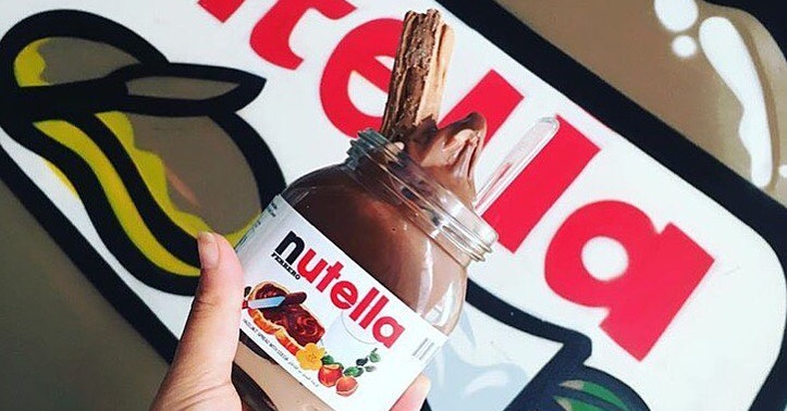 Nutella desserts in Dubai
