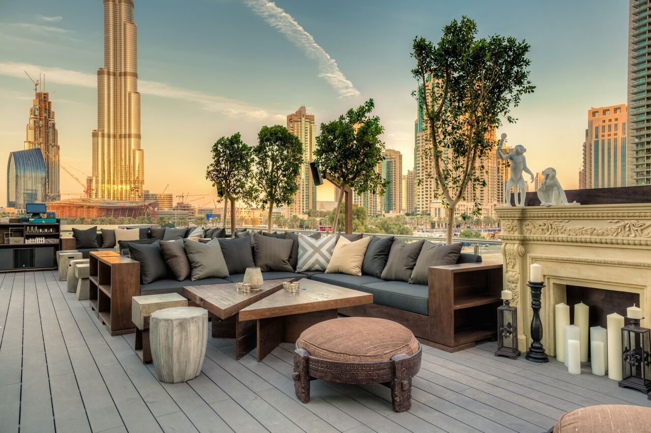 Treehouse Dubai bars in Dubai