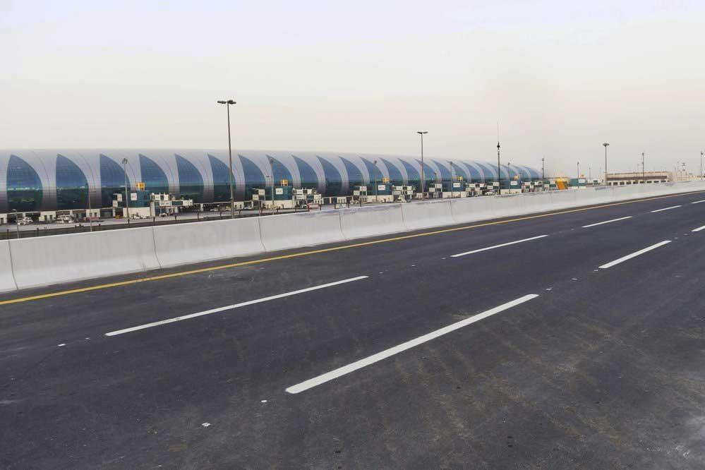 new airport road bridge
