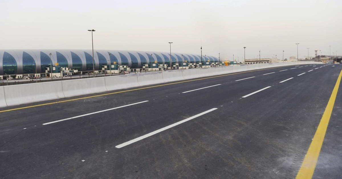 new airport road bridge