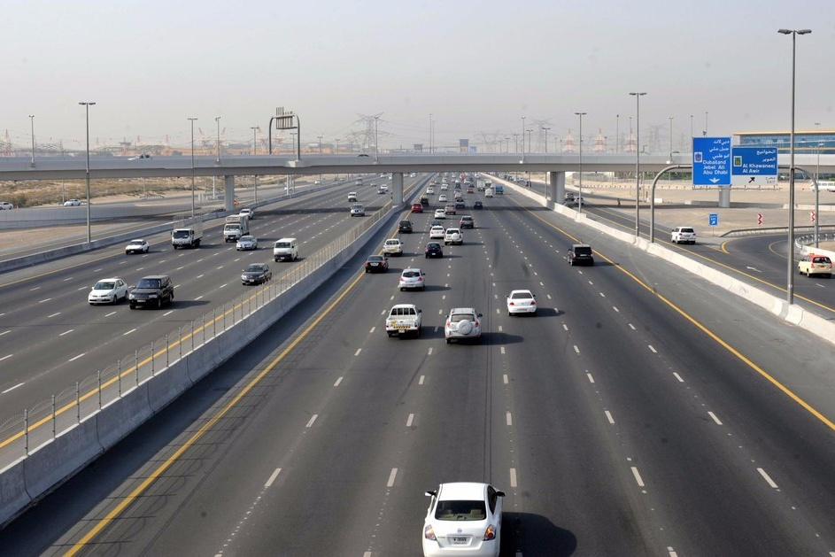 new speed limit in dubai