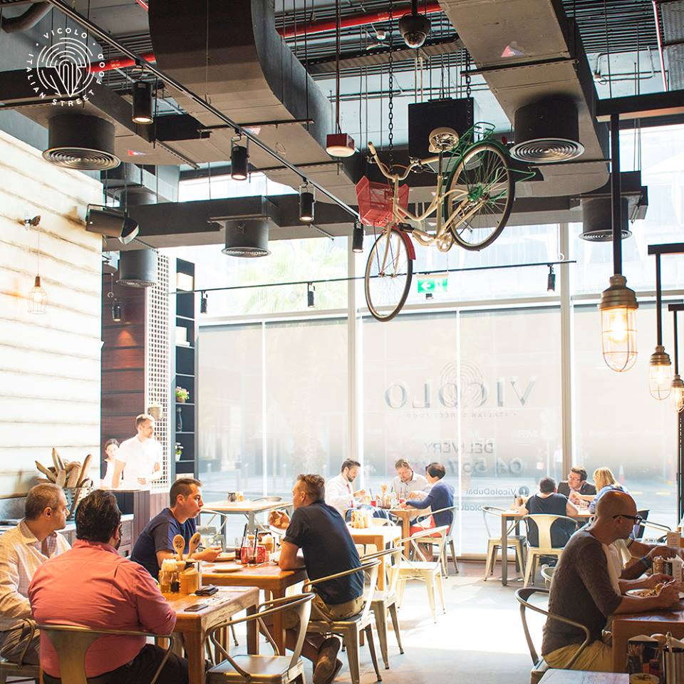 Vicolo Italian Street Food in Dubai Design District