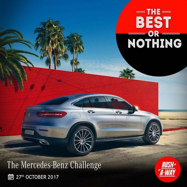 The Mercedes-Benz Challenge race