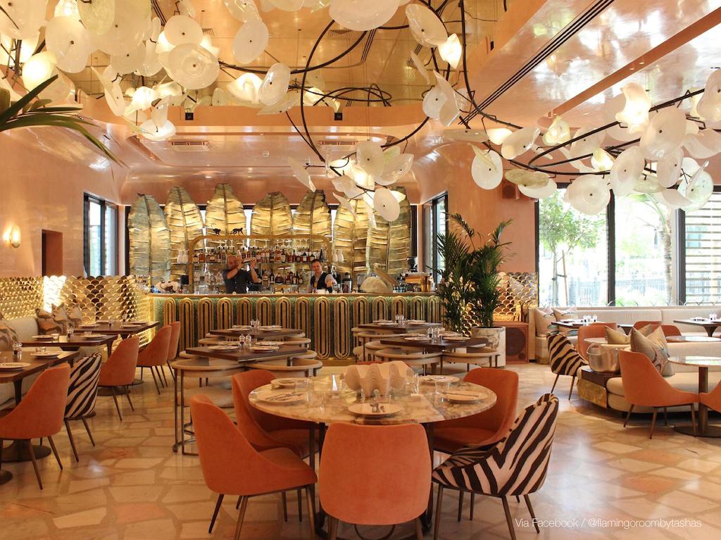 New restaurants in Dubai: Flamingo Room by Tashas