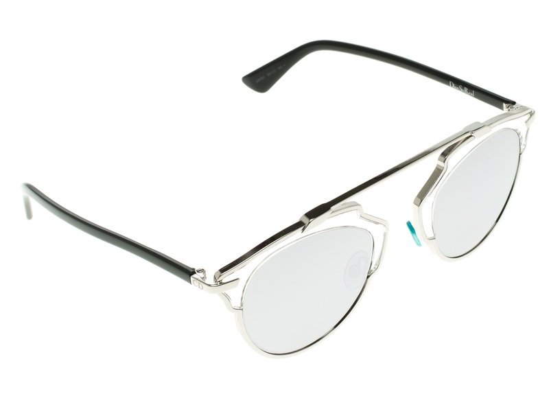 Dior Silver APPDC So Real Round Sunglasses