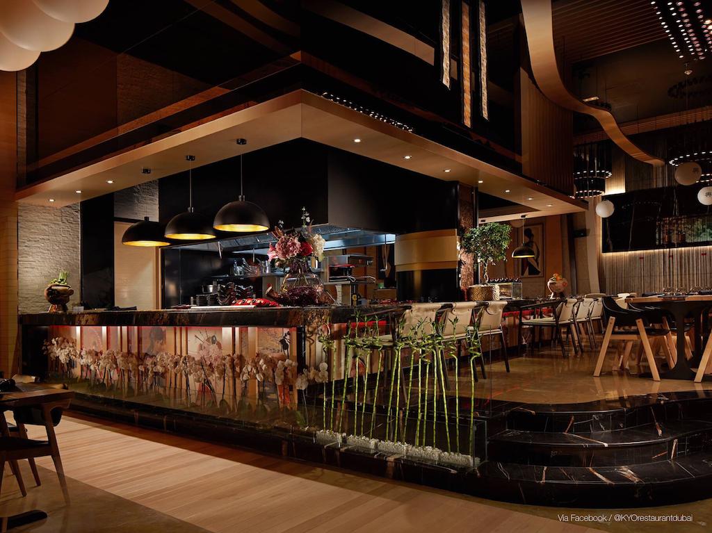 New restaurants in Dubai: KYO Restaurant & Lounge