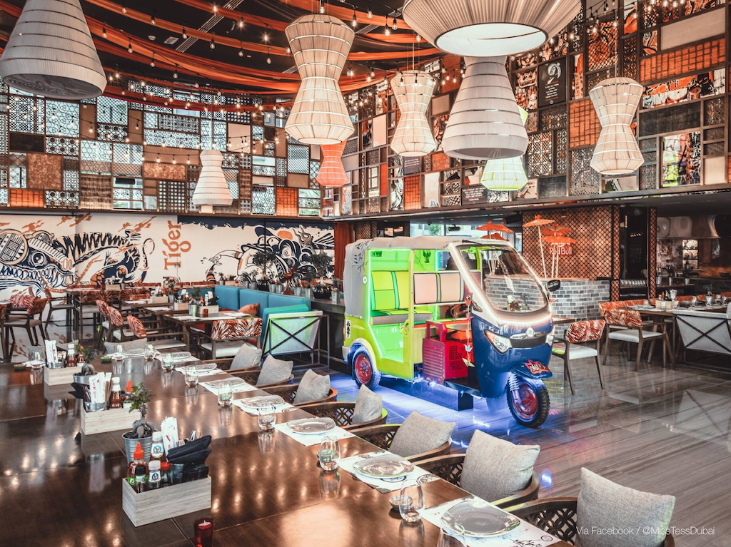 New restaurants in Dubai: Miss Tess Dubai