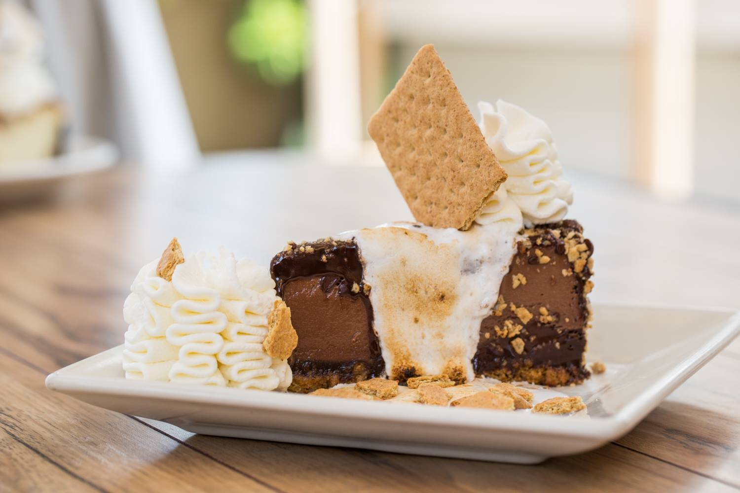 S'mores Cheesecake at The Cheesecake Factory