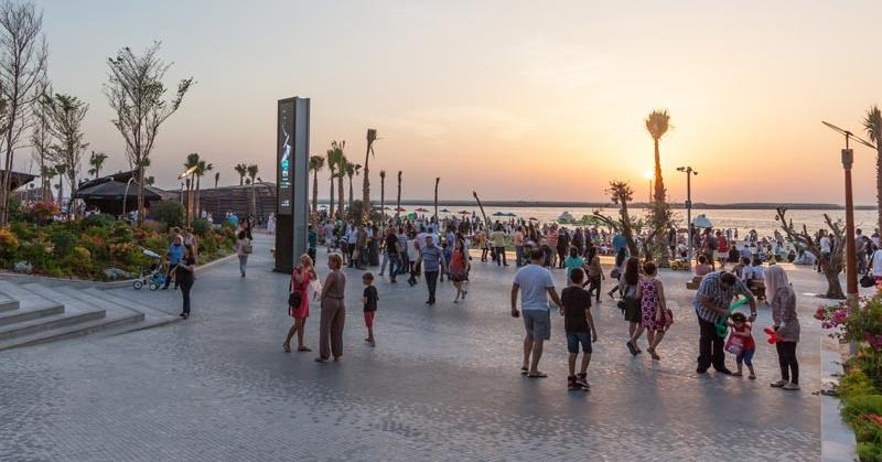 Families at The Beach JBR Dubai