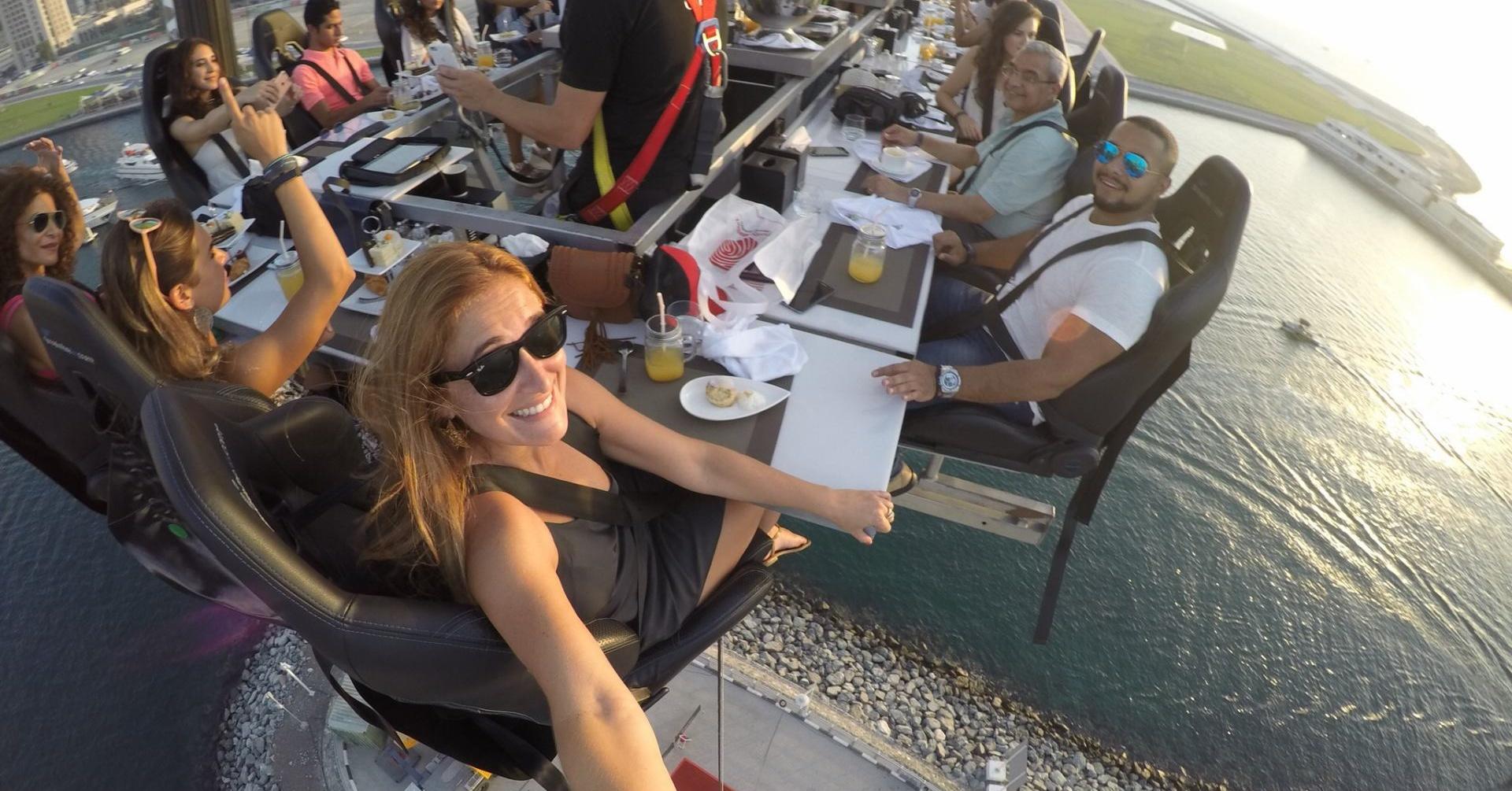 Things to do in dubai dinner in the sky Dubai