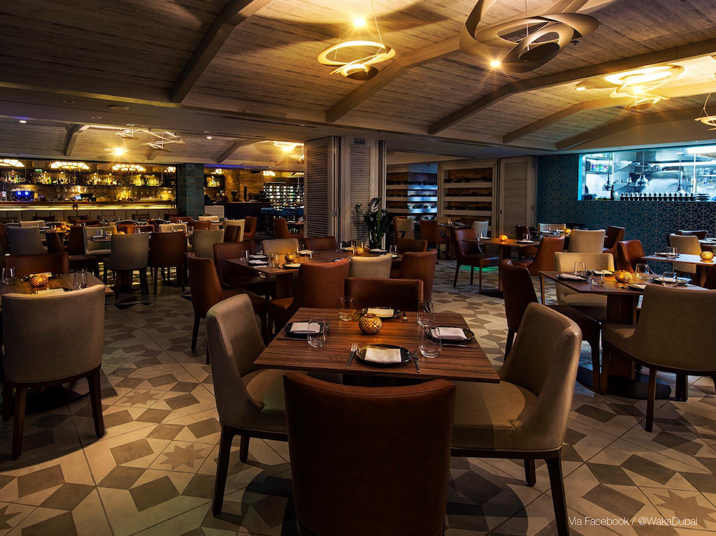 New restaurants in Dubai: Waka Restaurant & Bar