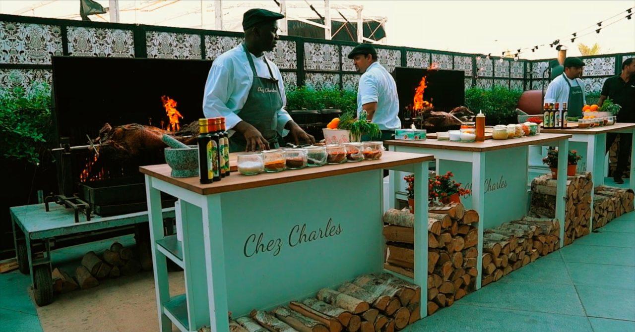 Chez Charles restaurant Saturday brunch in Dubai