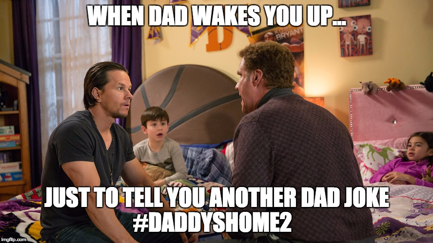Daddy's Home 2 competition in UAE