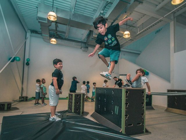 Winter Camps in Dubai - Parkour DXB