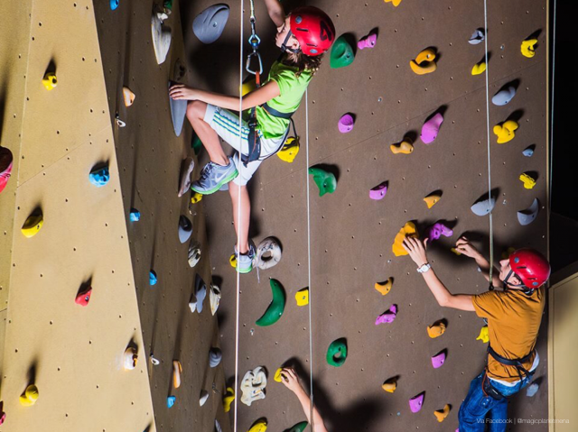 Things to do at Mirdif City Centre - Climbing Wall Magic Planet