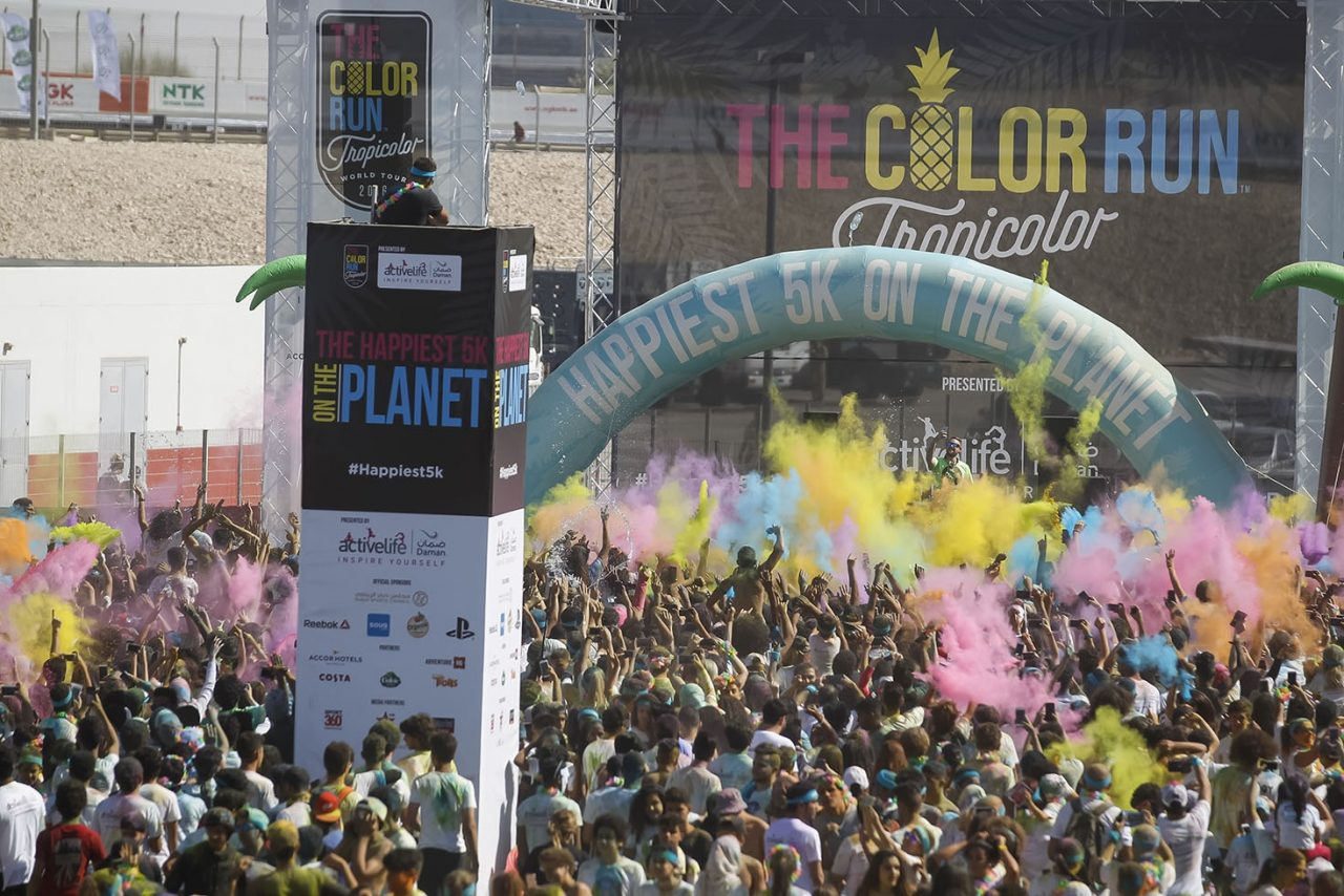 The Color Run Dubai November 2017