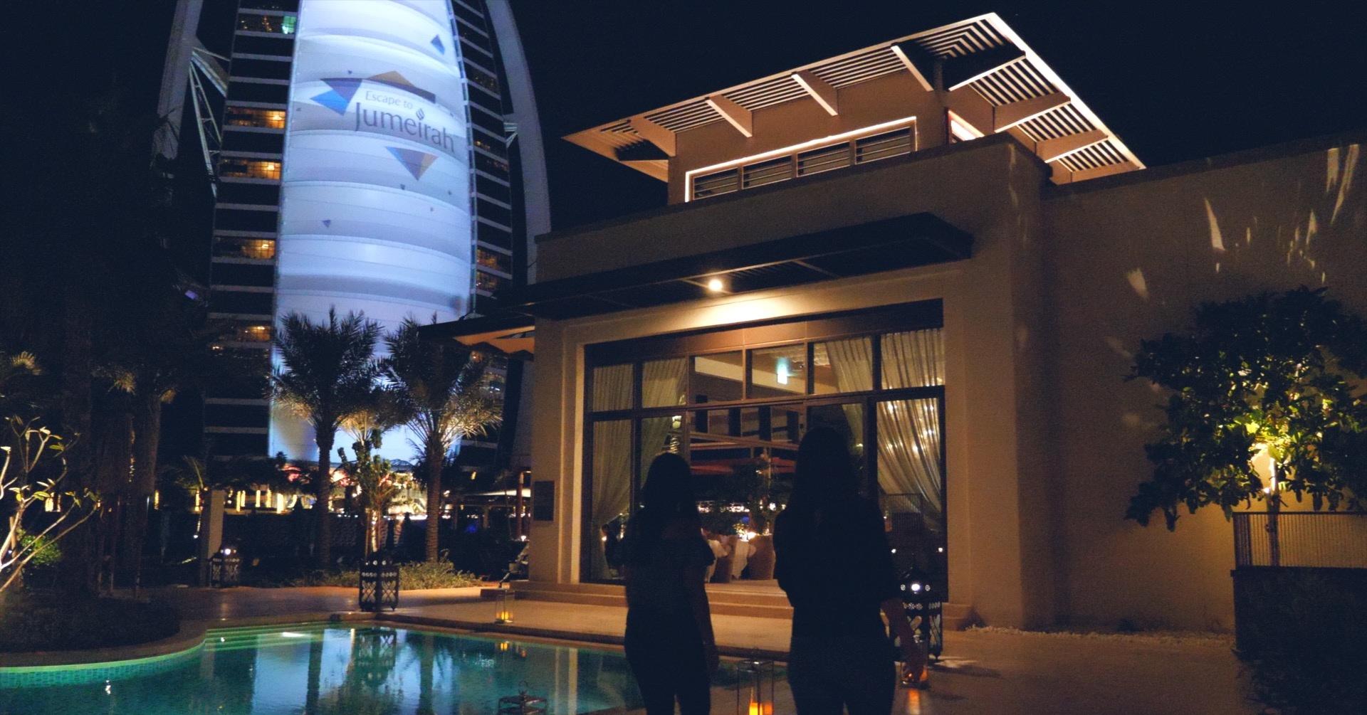 Summersalt beach club at Jumeirah Al Naseem