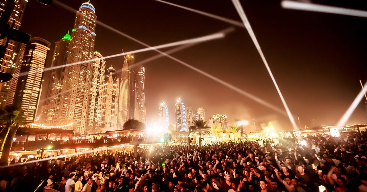 Barasti Dubai new year's eve in dubai