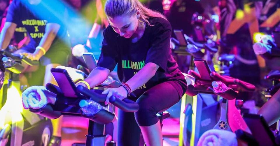 indoor cycling in Dubai - WeSpin