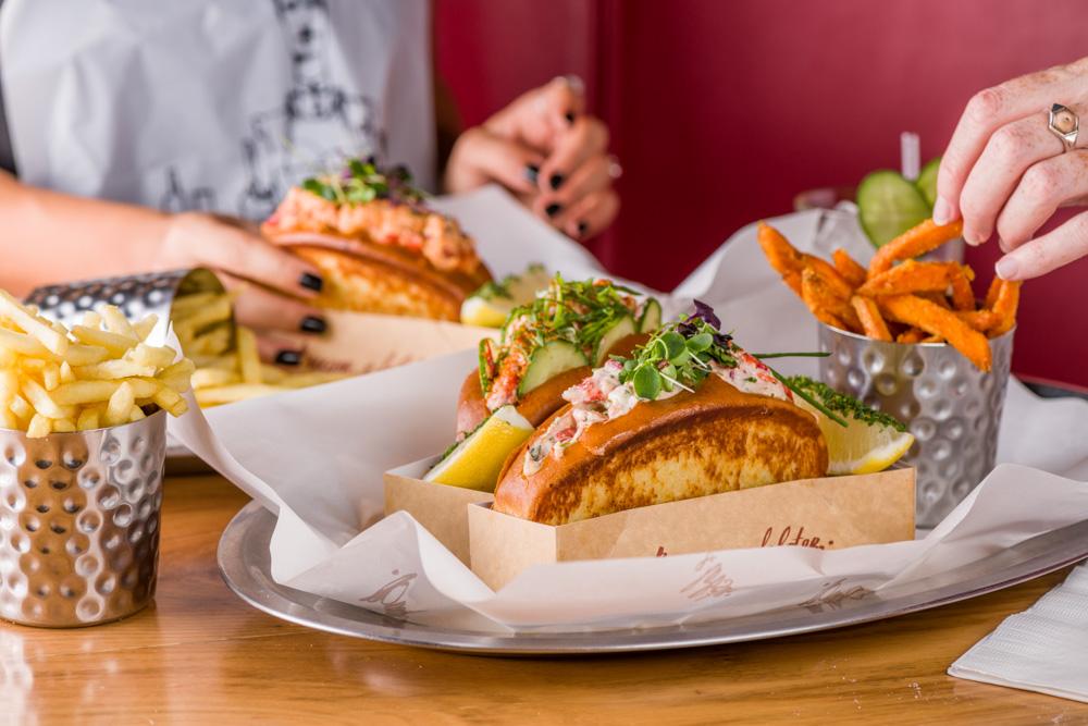 The Original Lobster Roll at Burger and Lobster Dubai