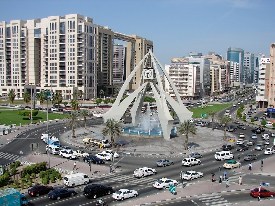 Clock tower dubai