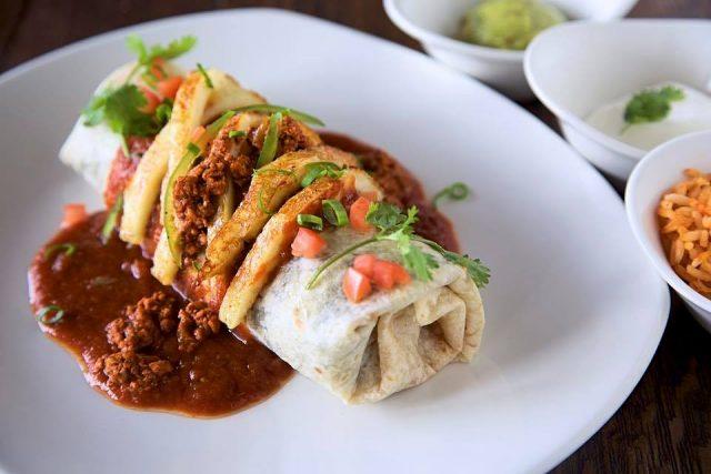 Mexican burrito in Dubai - Loca