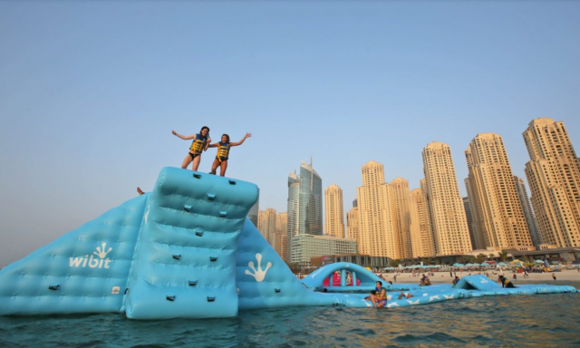 Things to do at free beaches in Dubai - JBR Dubai