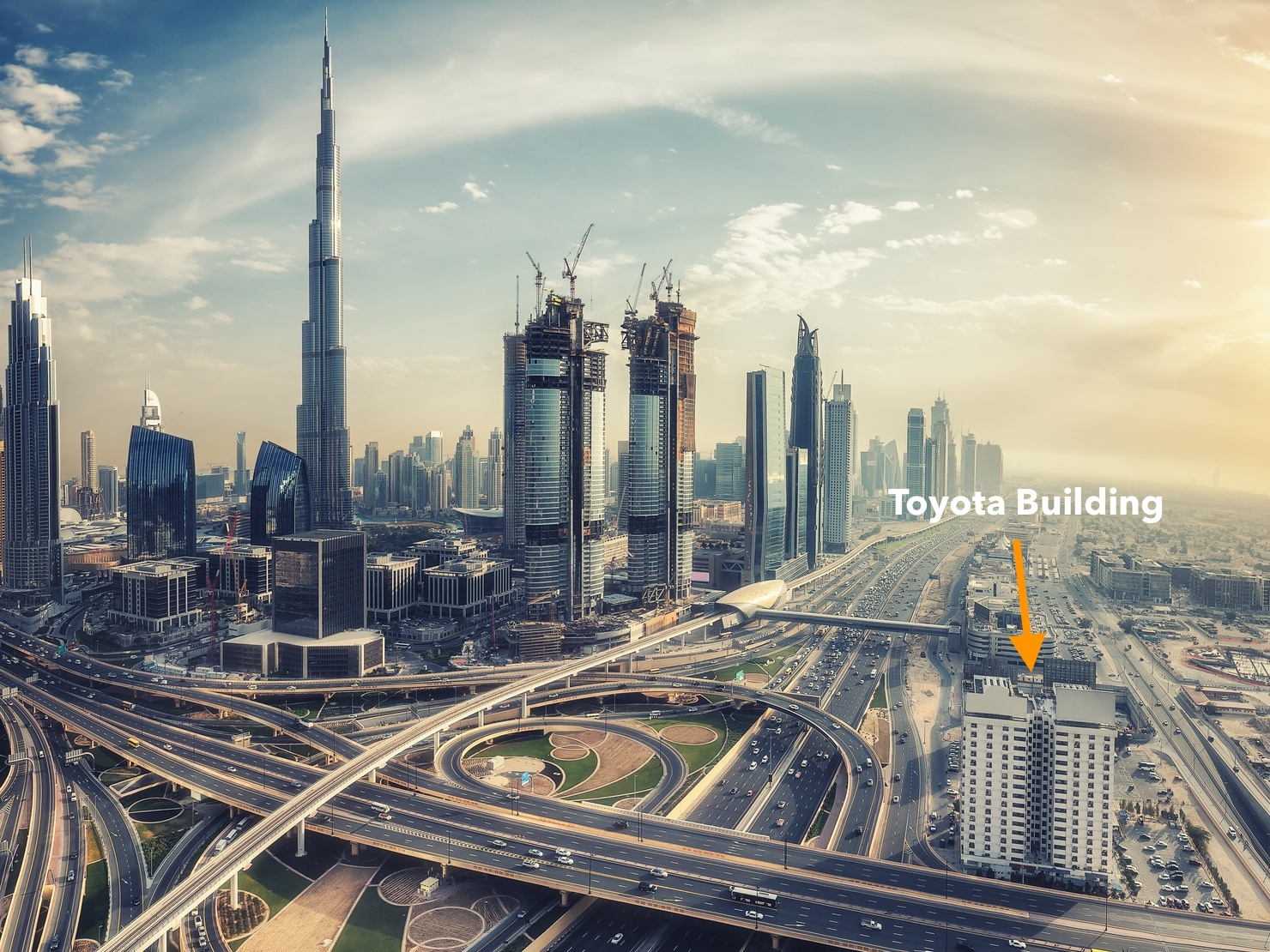 Toyota Building Sheikh Zayed Road