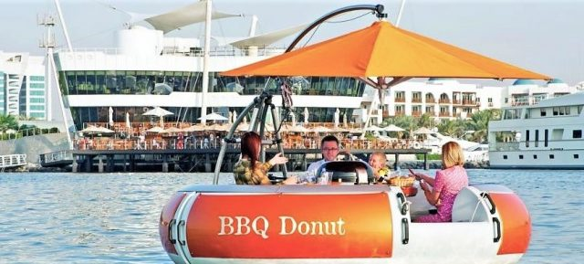 Unique restaurants in Dubai - BBQ Donut