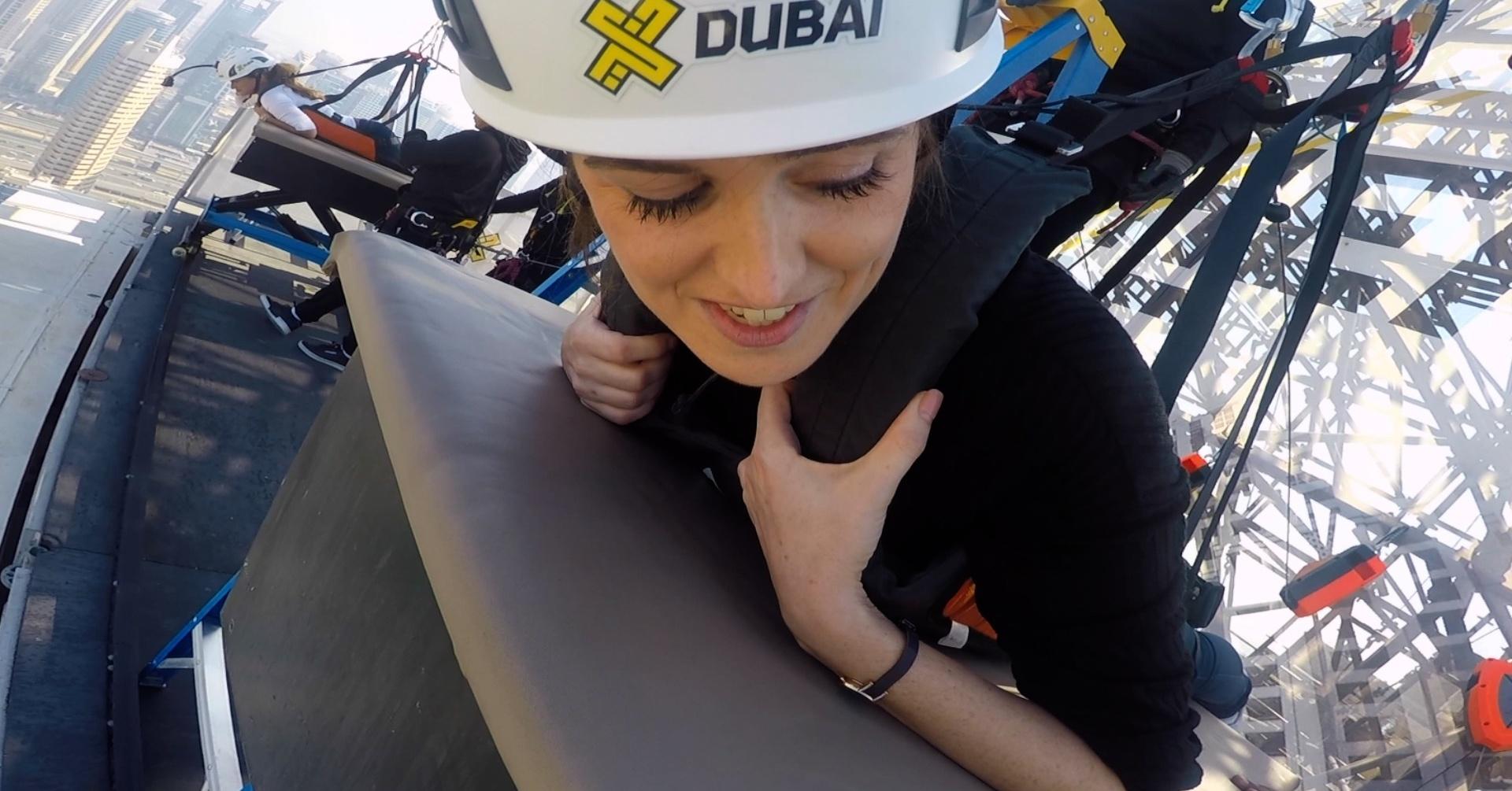 Xline Dubai Marina zipline experience