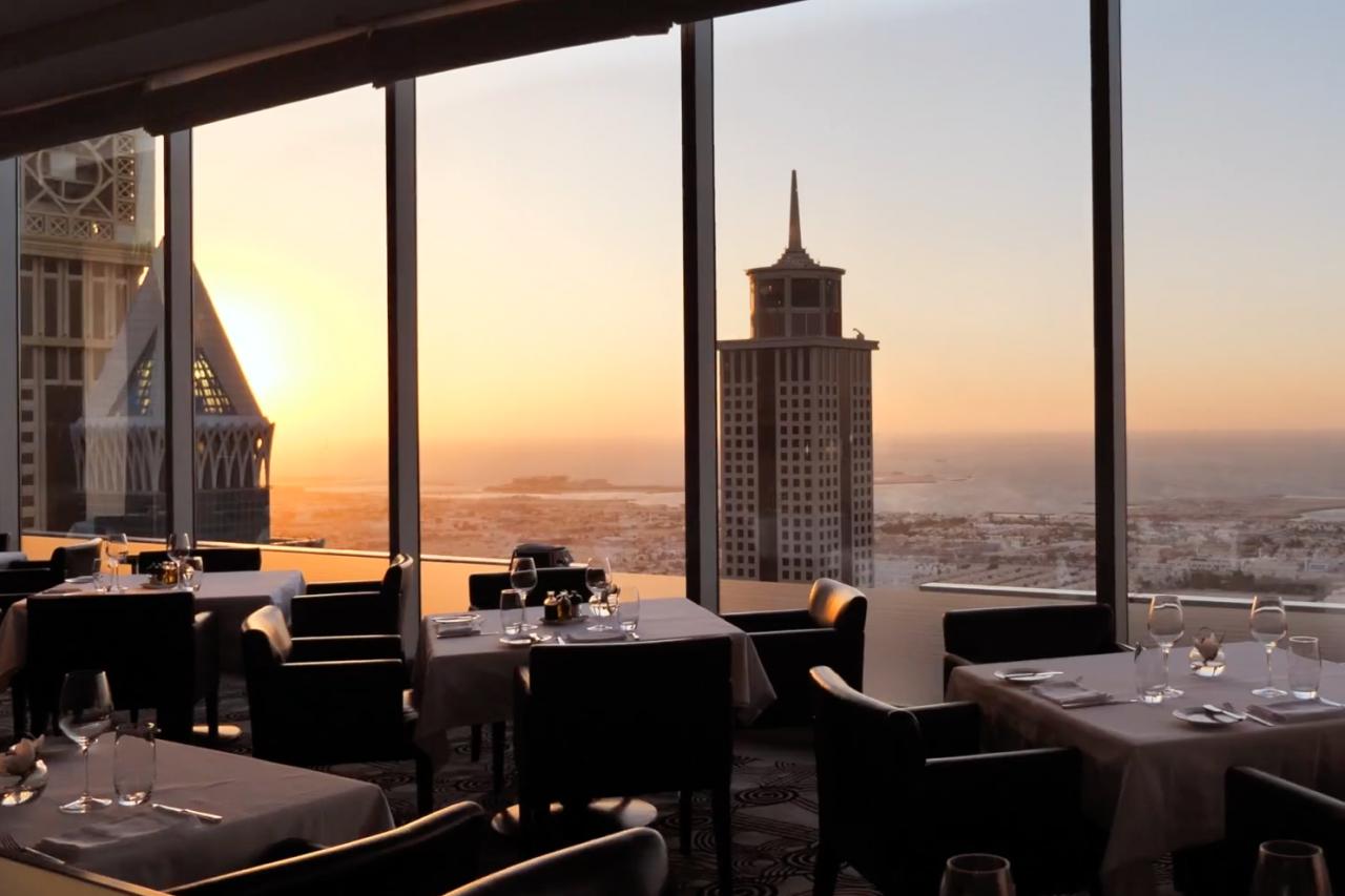 Alta Badia Italian restaurant in Dubai