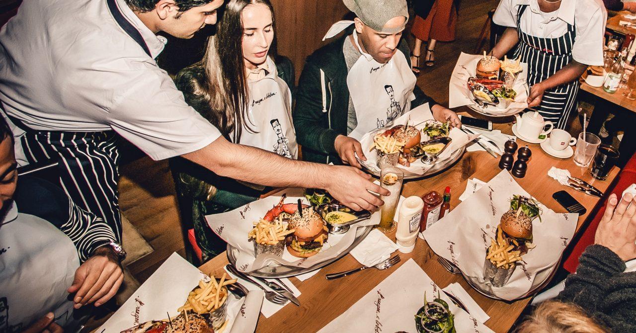 The 'Lobster Mandi' at Burger and Lobster Dubai
