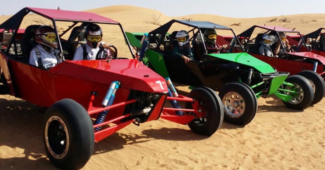 Desert Adventure in Dubai - Dune Buggy Desert Safari