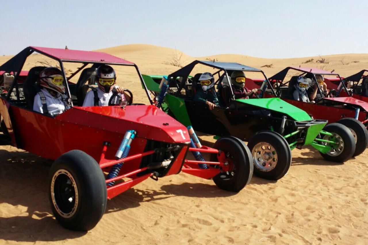 Desert Adventure in Dubai - Dune Buggy Desert Safari
