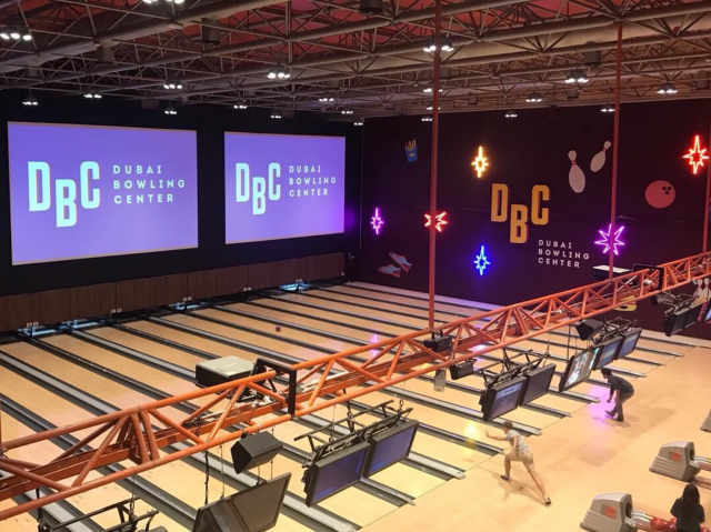 Bowling in Dubai - Dubai Bowling Centre