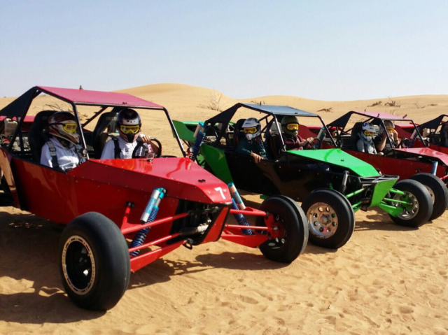 Desert Adventure in Dubai - Dune Buggy at Desert Safari